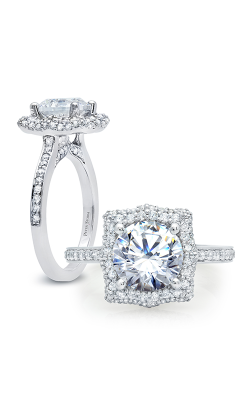 Peter Storm Halo Engagement Ring WS313WD product image