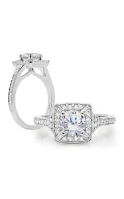 Peter Storm Halo Engagement Ring WS318WD product image