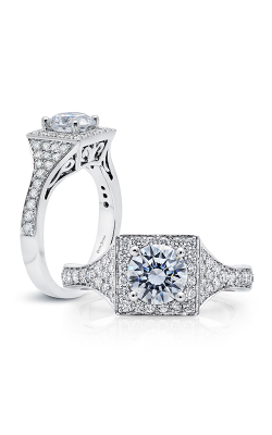 Peter Storm Halo Engagement Ring WS504WD product image