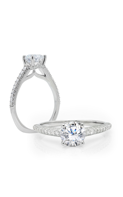 Peter Storm Solitaire Engagement Ring WS716WD product image