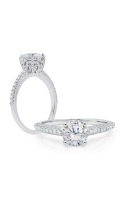 Peter Storm Solitaire Engagement Ring WS785WD product image