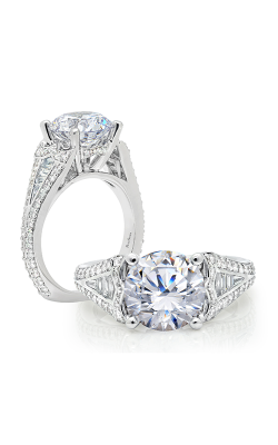 Peter Storm Three Stone Engagement Ring WS184WD product image