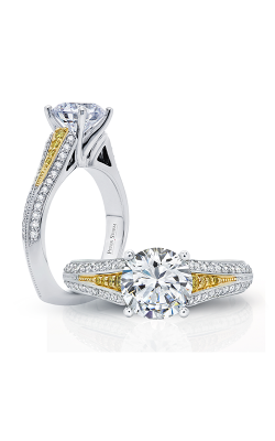 Peter Storm Three Stone Engagement Ring WS401YWDXYD2 product image