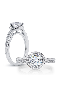 Peter Storm Halo Engagement Ring WS158WD product image