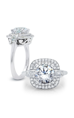 Peter Storm Halo Engagement Ring WS320WD product image