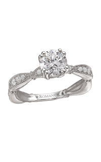 Romance Wedding Bands 117227-100
