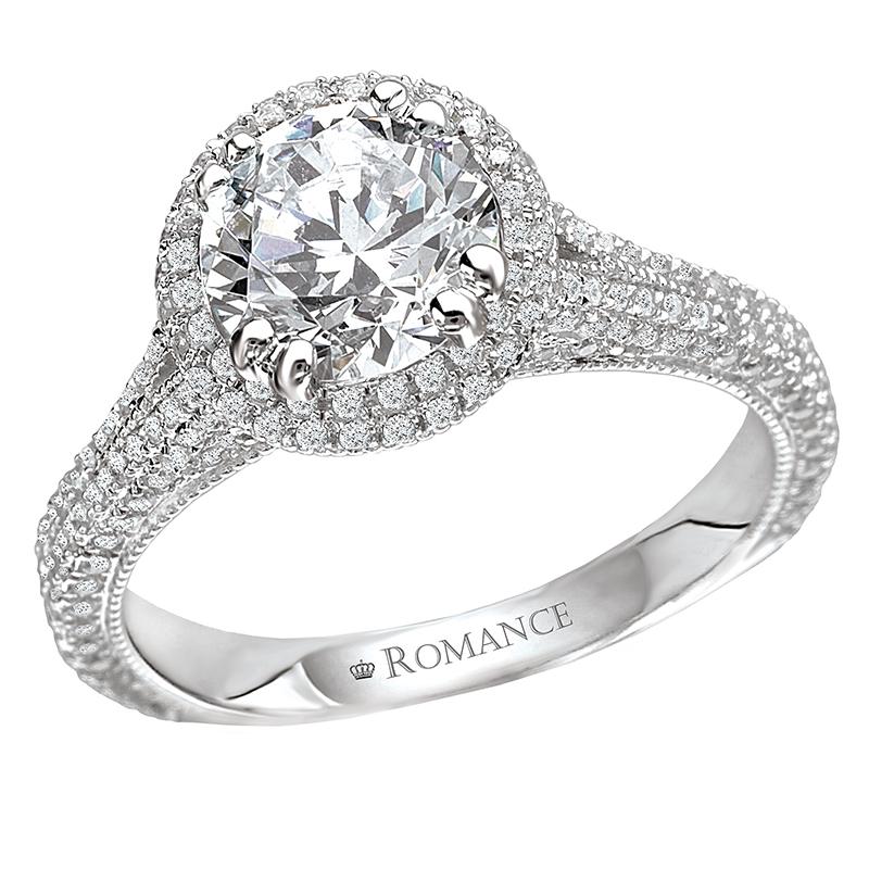 Romance Engagement Rings 117098-100 product image