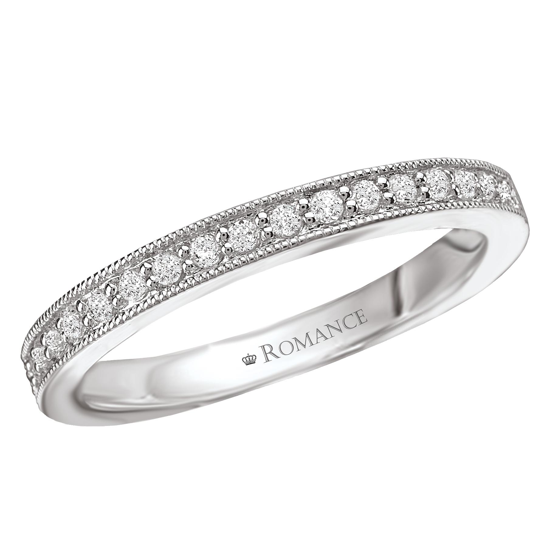 Romantic Bands: Romance Wedding Bands 117065-W