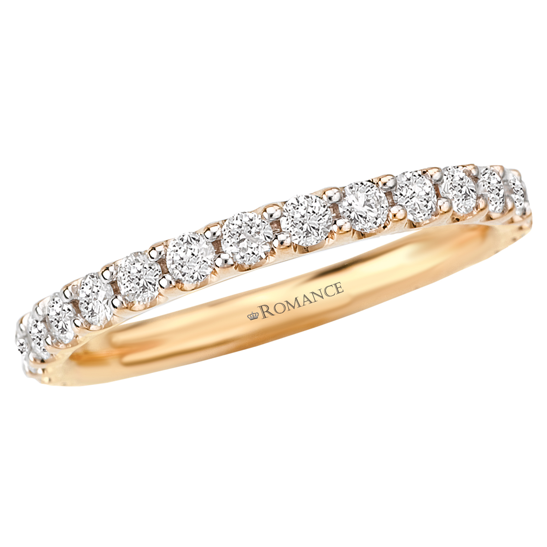 Romantic Bands: Romance Wedding Bands 117075-WY