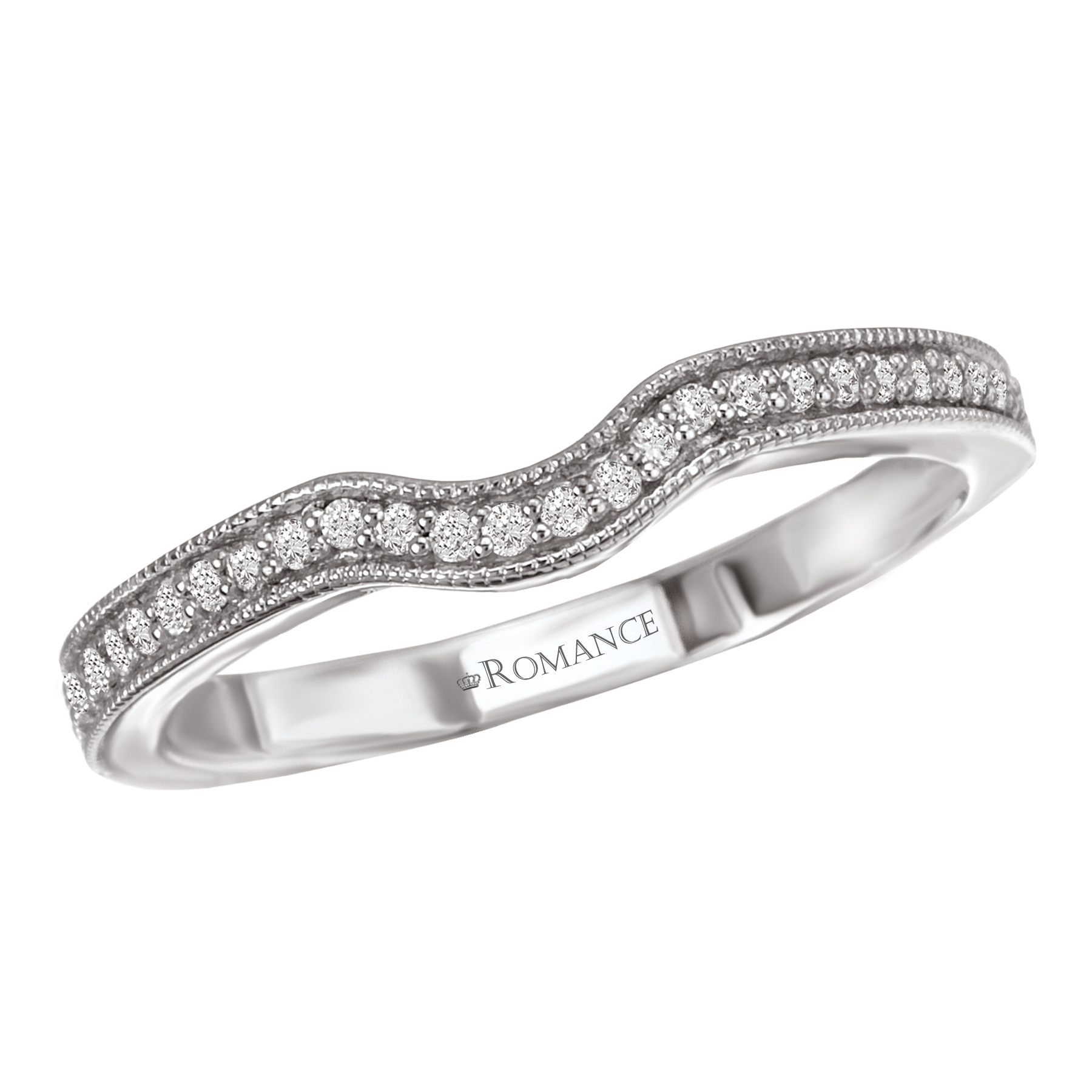 Romance Wedding Bands 117221-W product image