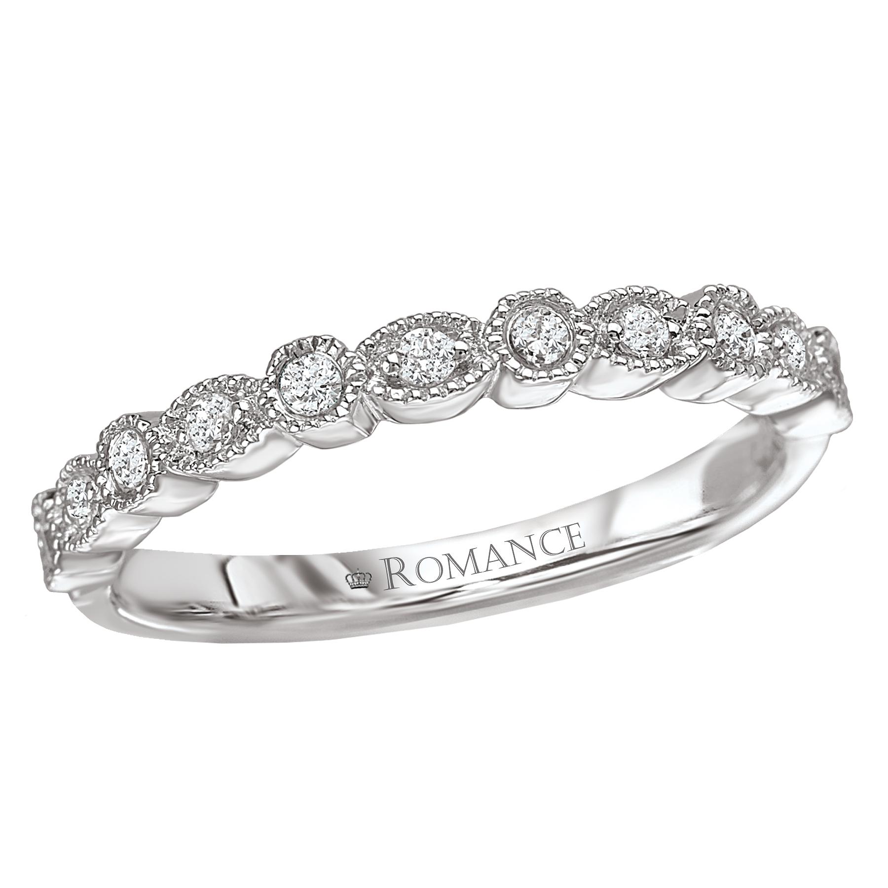 Romance Wedding Bands 117225-W product image