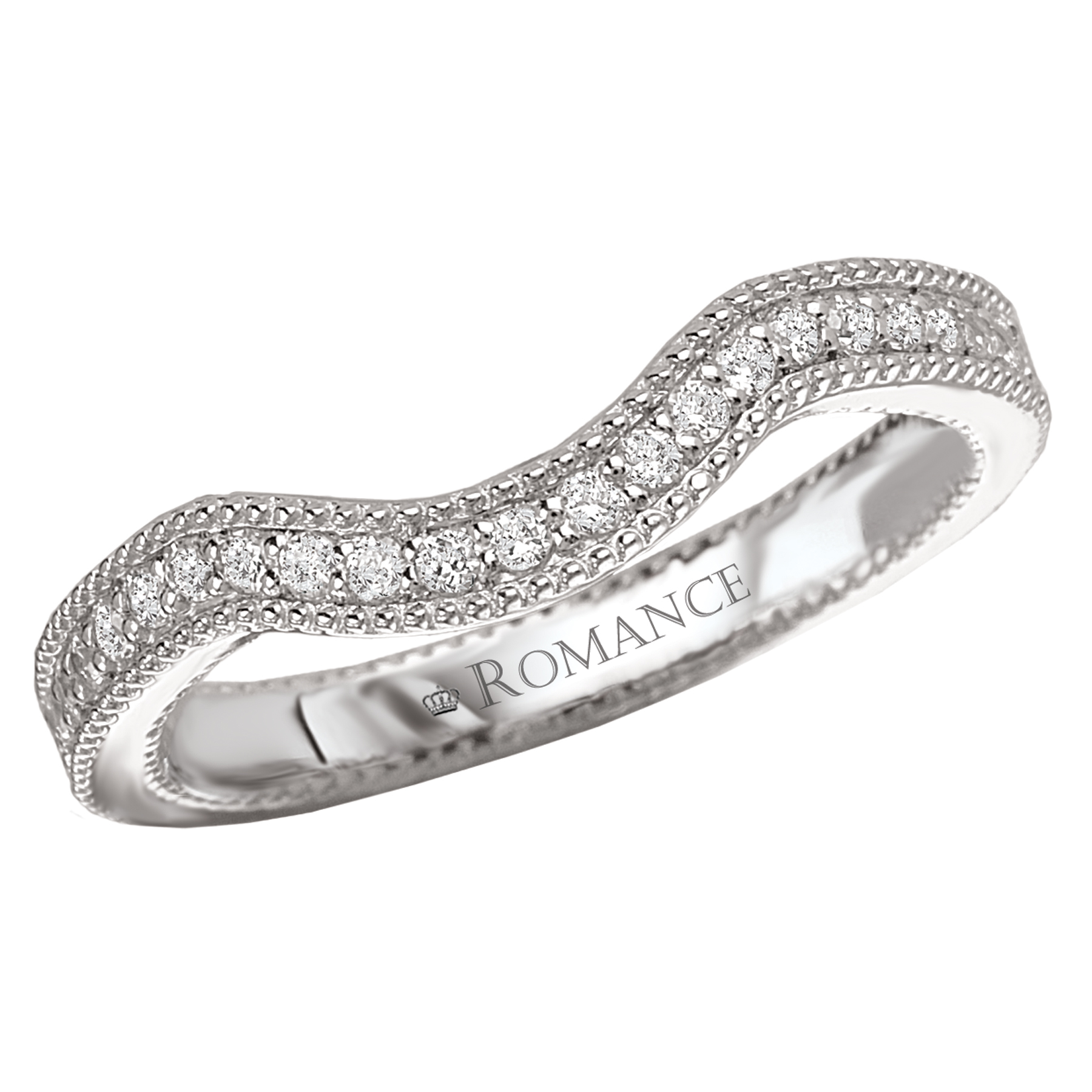 Romance Wedding Bands 117232-W product image