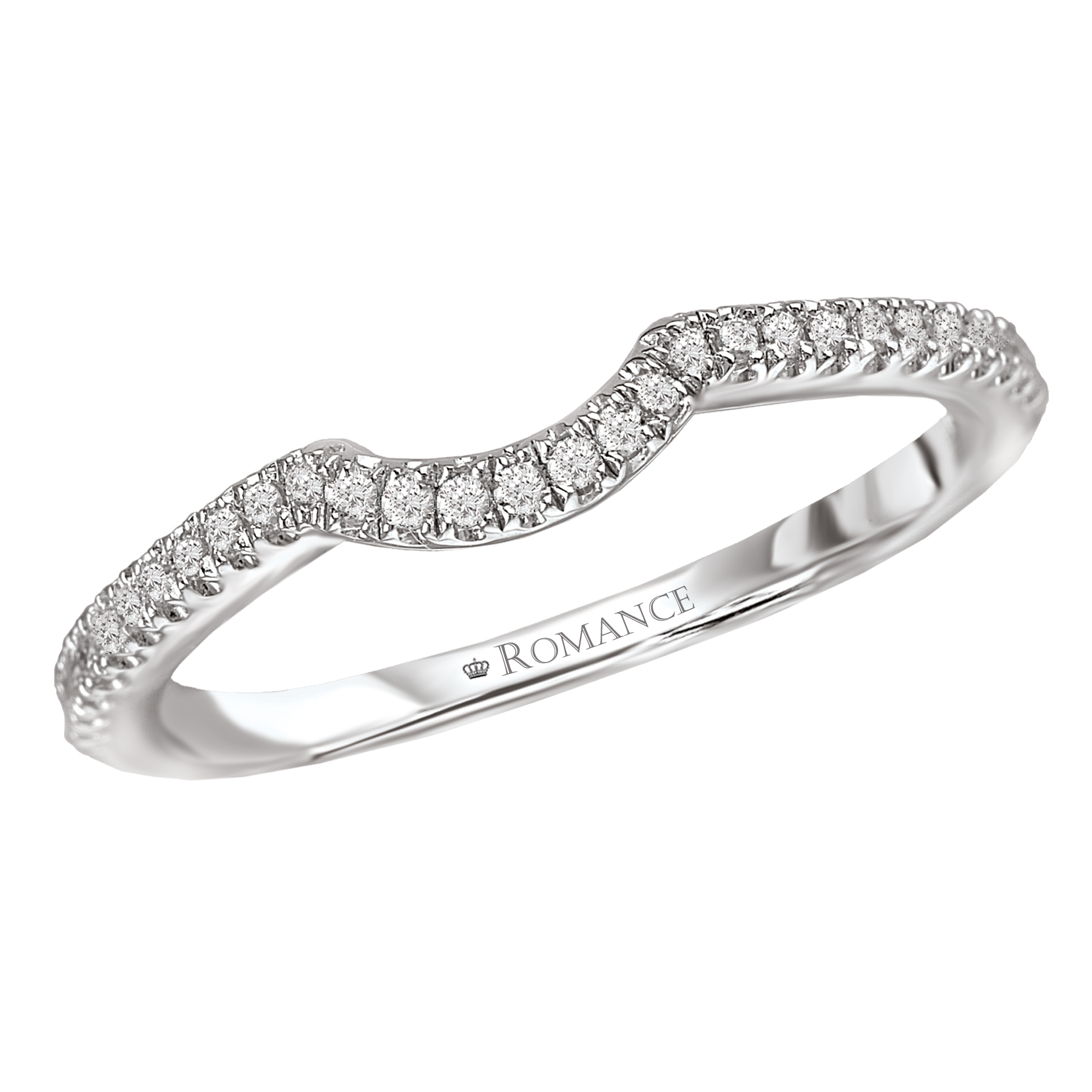 Romance Wedding Bands 117274-W product image