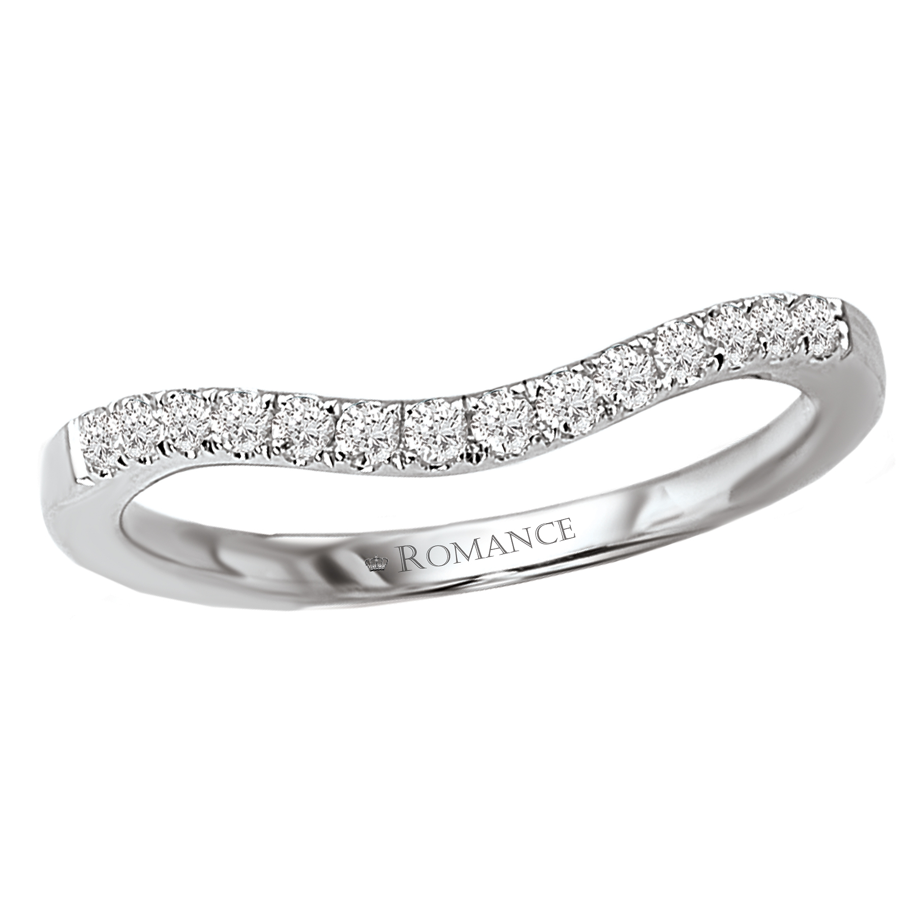 Romance Wedding Bands 117277-W product image