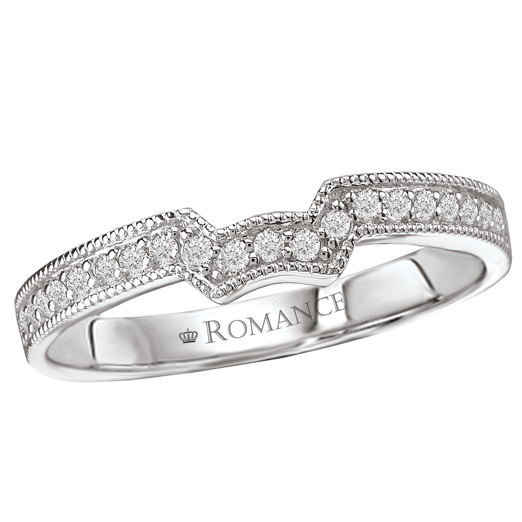 Romance Wedding Bands 117289-W product image