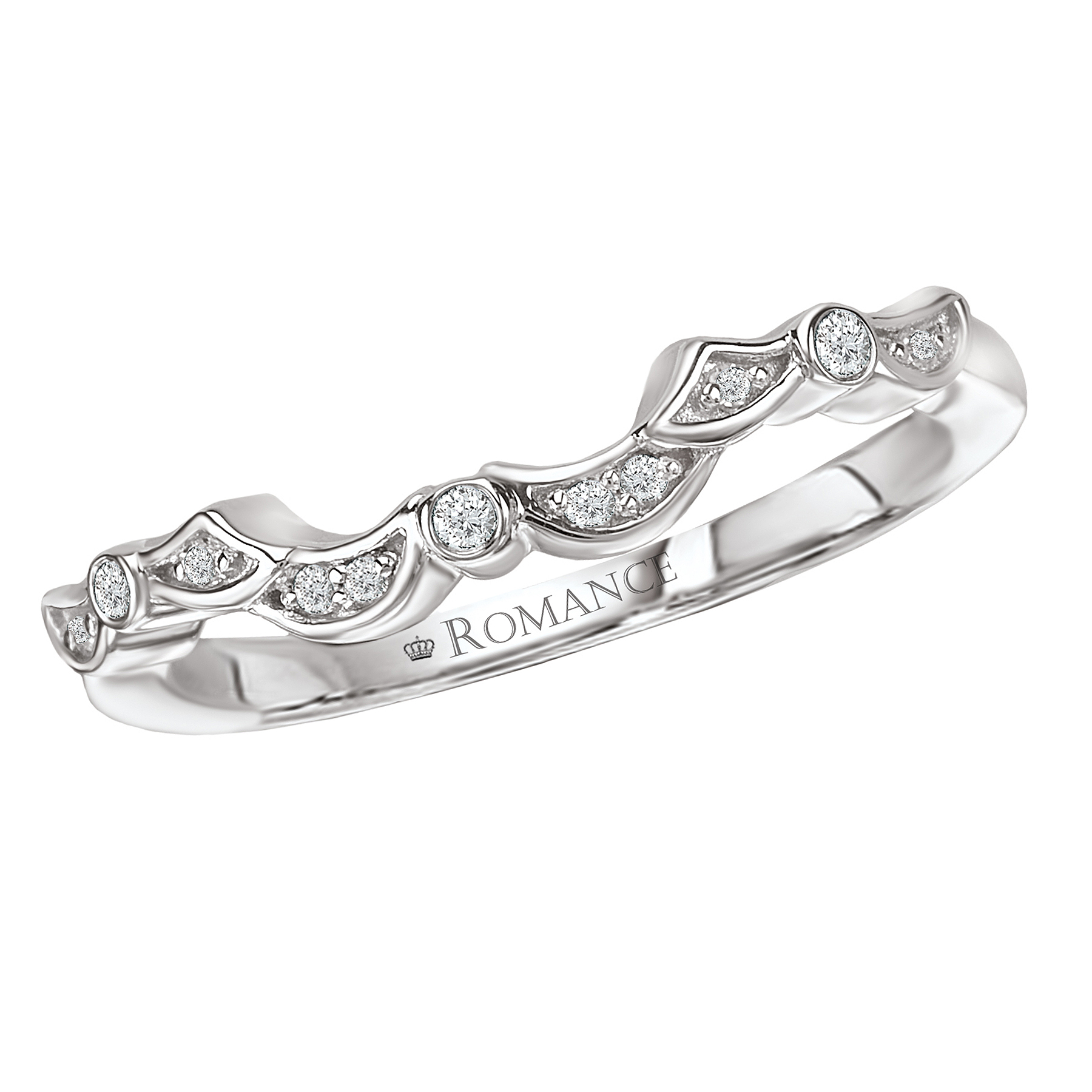 Romance Wedding Bands 117311-W product image