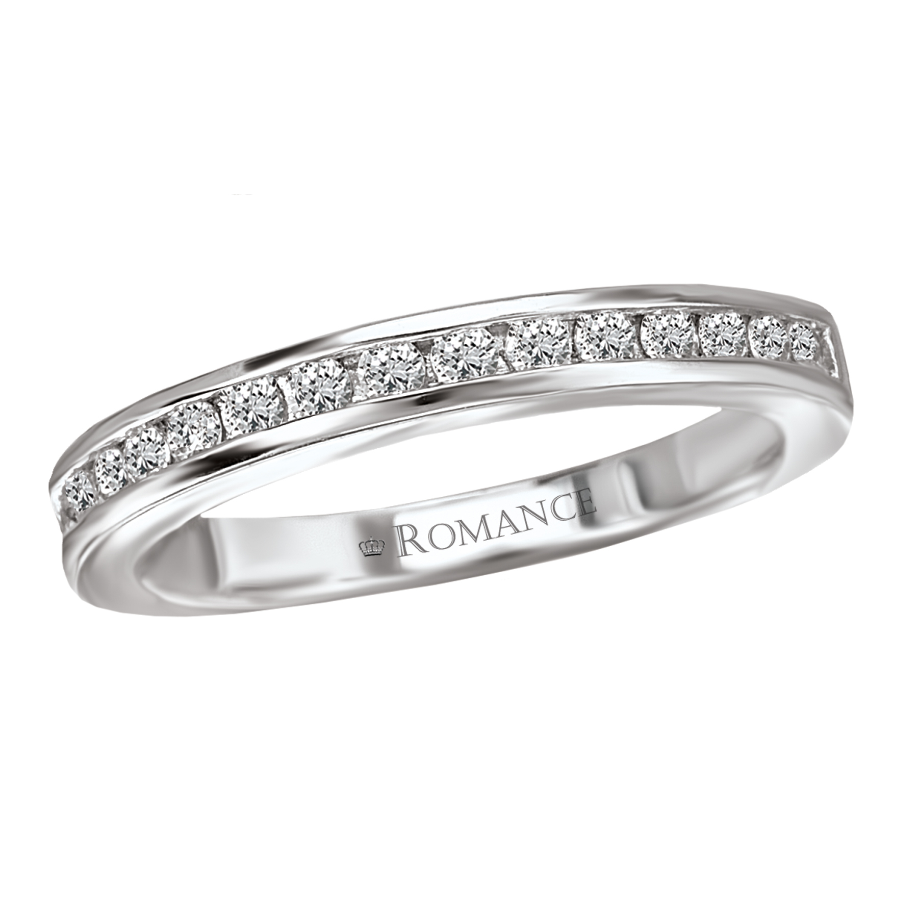Romance Wedding Bands 117452-W product image