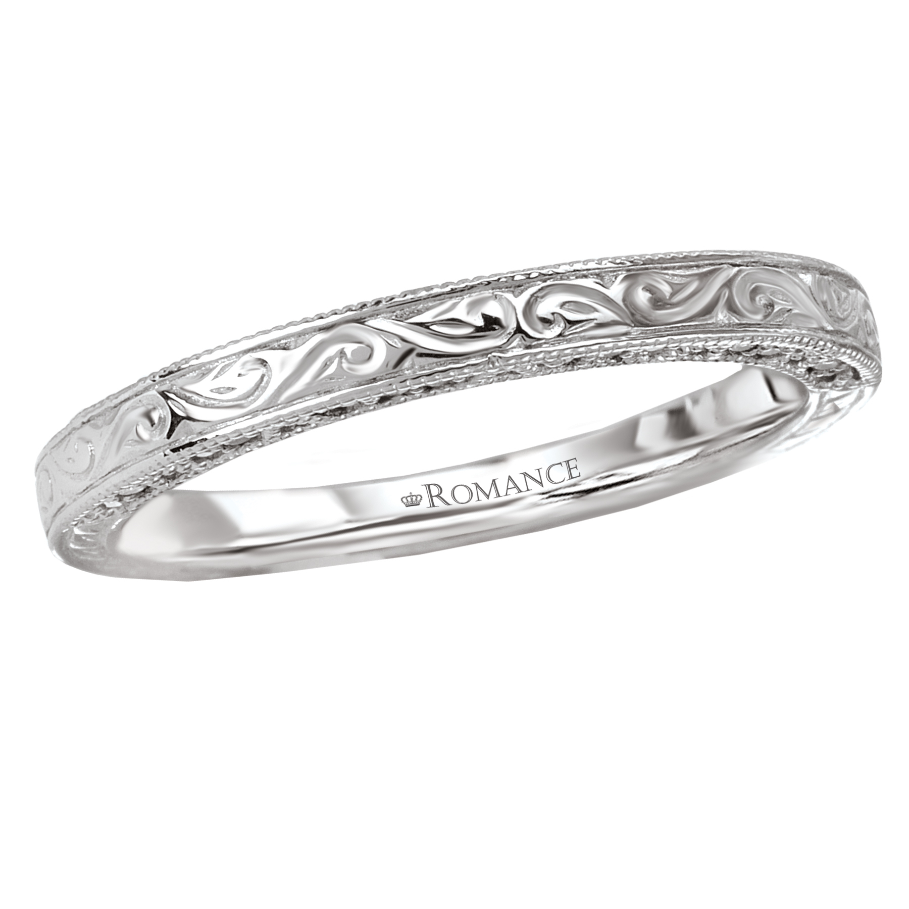 Romantic Bands: Romance Wedding Bands 117534-W