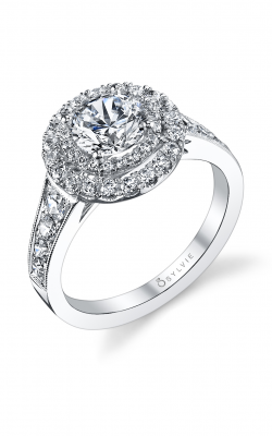 Sylvie Halo Engagement ring S1199 CU product image