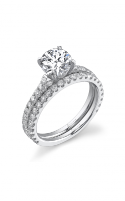 Sylvie Sidestone Engagement ring, SY097-0047/A8W product image