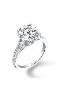 Sylvie Sidestone Engagement ring SY098 product image