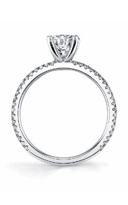 Sylvie Sidestone Engagement ring SY131 product image