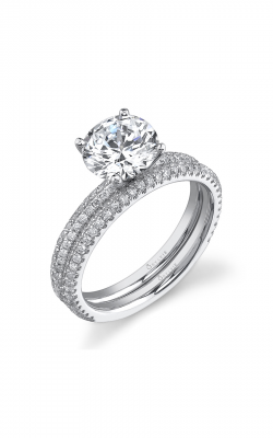 Sylvie Sidestone Engagement ring SY131-0030-A8WCENT product image