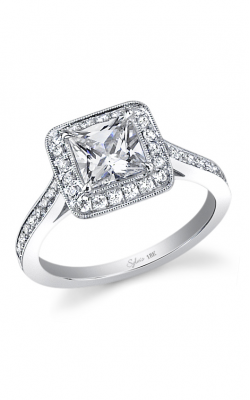 Sylvie Halo Engagement ring SY310 PR product image