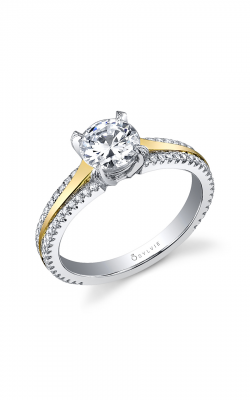 Sylvie Sidestone Engagement ring SY455 product image