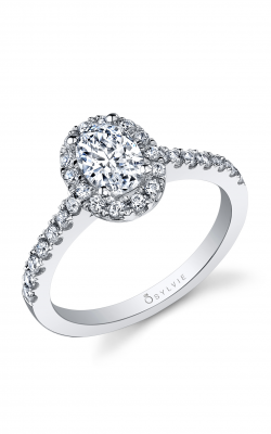 Sylvie Top 50 2017 Engagement ring, SY999 OV product image