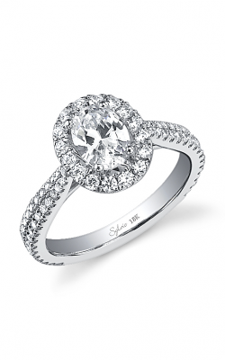 Sylvie Halo Engagement ring, SY473 product image
