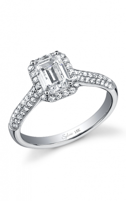 Sylvie Halo Engagement ring, SY480 product image