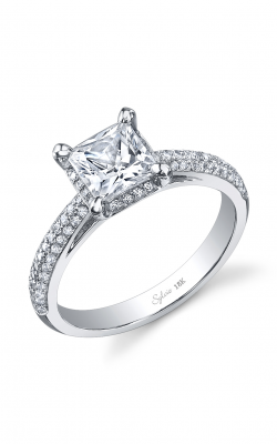 Sylvie Halo Engagement ring, SY918 product image