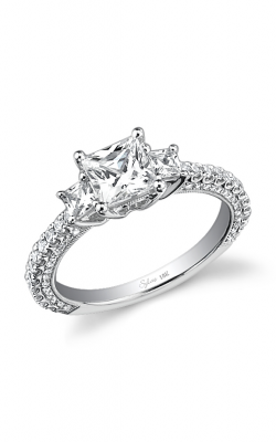 Sylvie Three Stone Engagement ring, SY435S-0076/A8W product image