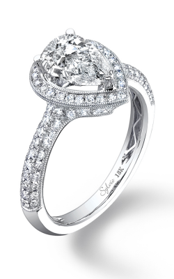 Sylvie Halo Engagement ring SY096 PS product image