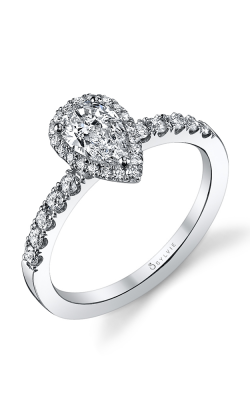 Sylvie Halo Engagement ring SY173 PS product image
