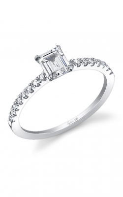 Sylvie Sidestone Engagement ring, SY266-0022/A8W product image