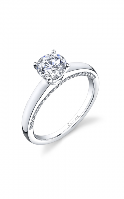 Sylvie Sidestone Engagement ring, SY700-0021/A8W product image