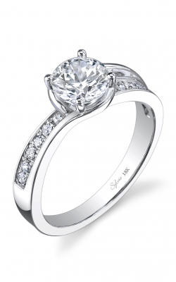 Sylvie Sidestone Engagement ring, SY739-0019/A8W product image
