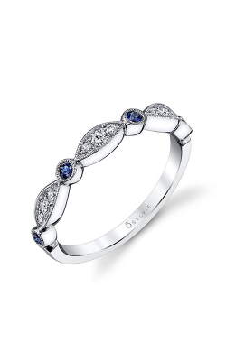 Sylvie Wedding Bands B0011-23BS/D4W product image
