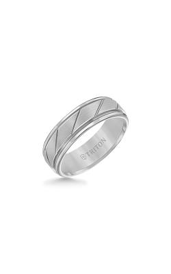 Triton Carved Wedding Band 11-2215C