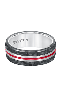 Triton Tungsten Air Wedding Band 11-5809THE-G