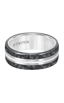 Triton Tungsten Air Wedding Band 11-5809THH-G