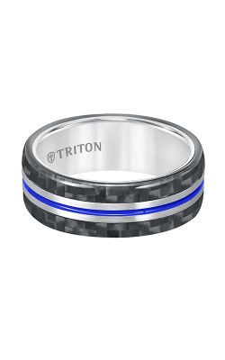 Triton Tungsten Air Wedding Band 11-5809THJ-G