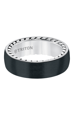 Triton Titanium Wedding Band 11-5642BV-G product image
