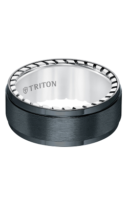 Triton Titanium Wedding Band 11-5647BV-G product image
