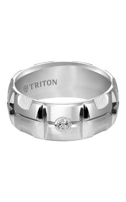 Triton Tungsten Carbide Wedding band 22-4823HC-G product image
