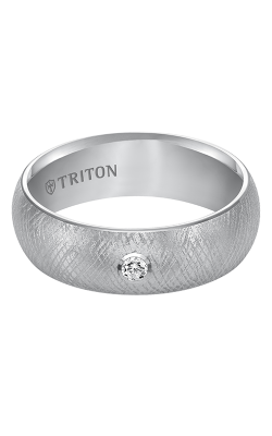 Triton Tungsten Carbide Wedding band 22-4838HC-G product image