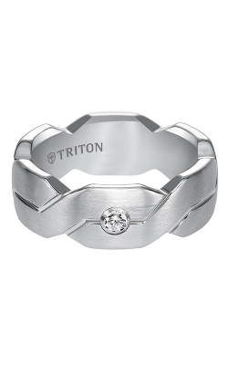 Triton Tungsten Carbide Wedding band 22-4839HC-G product image