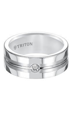 Triton Tungsten Carbide Wedding band 22-5250HC-G product image